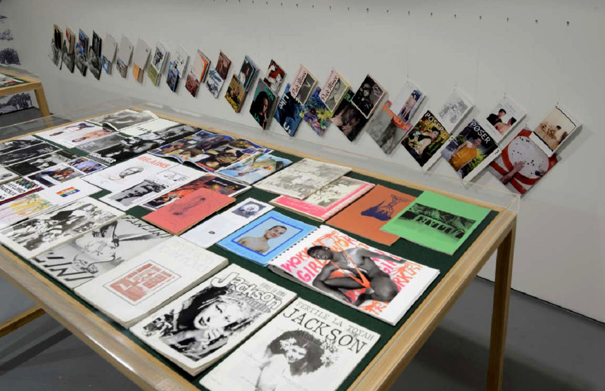 © exposition queer zines courtesy arts factory
